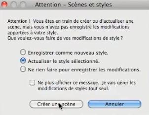 Scènes et Styles
