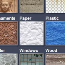 biblioteca de texturas de sketchup