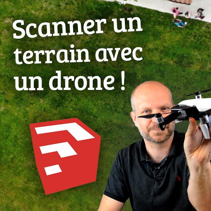 DRONE y SketchUp