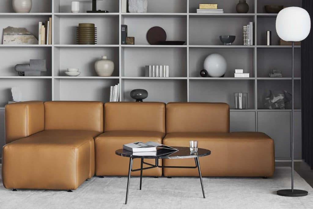 EC1 est basé sur des éléments modulaires carrés, parfaits pour optimiser les sièges moelleux dans les zones avec des contraintes d'espace.