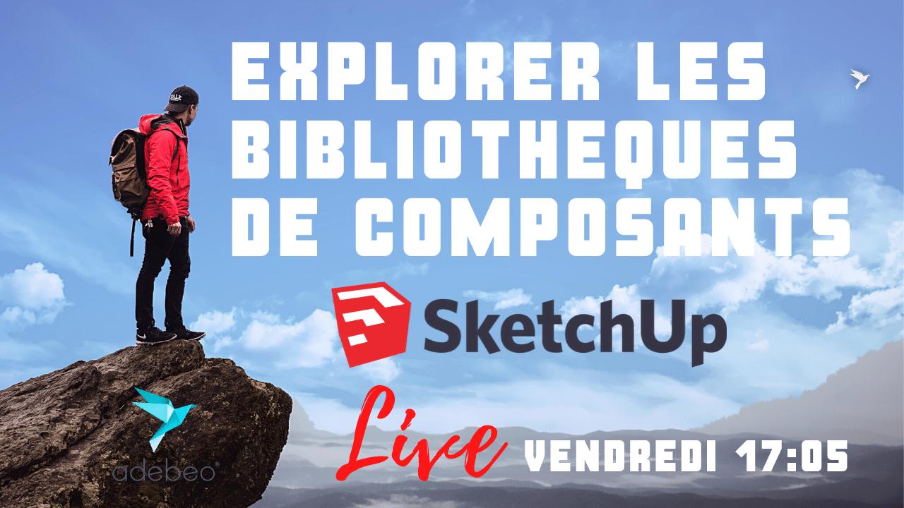 SketchUp: bibliotecas